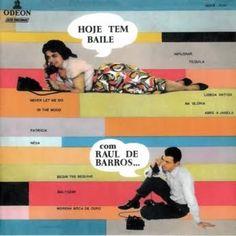 Hoje tem baile #brazil #design #graphic #vintage
