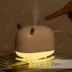 SOTHING #DSHJ #- #H #- #009 #Deer #Light #Ambient #Humidifier #from #Xiaomi #youpin #- #WHITE