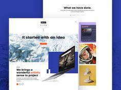Unity Personal Portfolio Website #inspiration #web #design #portfolio