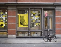Natalie Schaefer #martens #yellow #black #retail #doc