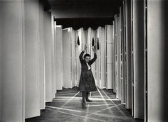 Louise Bourgeois inside Articulated Lair, 1986 #bourgeois #louise #art