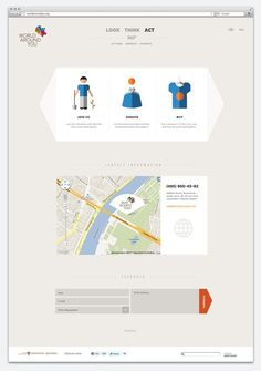 Inspiring Web Design by Smart Heart for World Around You #layout