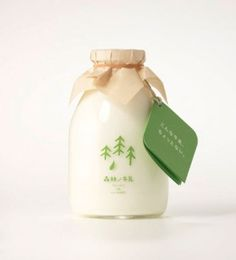 Free as a Bee #packaging #milk #natural