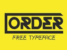 Order Free Display Font