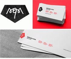 Arlo™ | Sine Qua Non Salons #mark #logo #design #letterhead