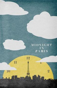 Sara Lindholm - Midnight in Paris #poster #film #movie