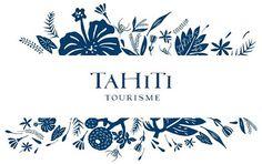 New brand identity of the islands of Tahiti #islands #tourism #visual #travel #brand #tahiti #identity #logo