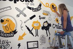 mural, flash, illustration, wepoke