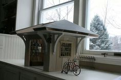 TinyGarage Exterior 0.jpg #workshop #bike #miniature #art