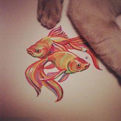 @catfly Kate Shapiro #illustration #drawing #art