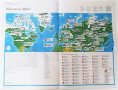 Monocle Alpino #print #design #graphic #newspaper #map #layout #editorial