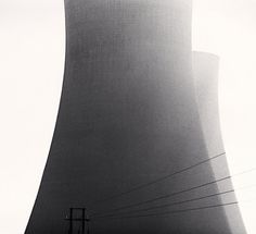 Michael Kenna #concrete #infrastructure #towers #cooling #engineering #cooli