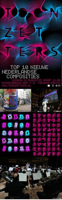 Toonzetters   Lava Graphic Design, Amsterdam #poster #typography
