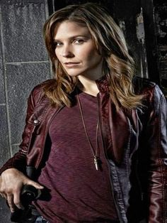 July 8 is #SophiaBush's birthday. To help you celebrate, we put together this #slideshow of some of her greatest #looks and Her #ChicagoPD Maroon #LeatherJacket