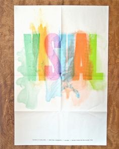Erik Anthony Hamline #print #letterpress #poster #typography