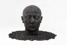 Astounding Chain Sculptures by Seo Young Deok   WANKEN - The Art & Design blog of Shelby White #young #sculpture #seo #chain #art #deok