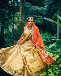 Lehenga Color Combination for bride