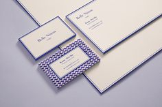 Good design makes me happy: Project Love: Belle Ninon Stationery