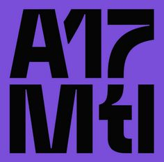 "espacefixe: ""The 2017 ATypi conference branding is on! Here's the logo """