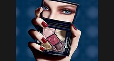"""5 Couleurs, the reinvented Couture eyelook"" de Dior #mag #ads #dior #palette"