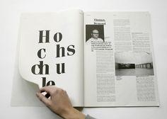johannafloeter #white #magazin #newspaper #black #clean #grid #layout