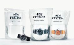 Packaging Reloj Festina Water Resistant