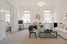 a gorgeous swedish apartment for sale | the style files #interior