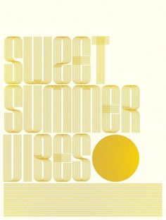 Friends of Type page 24 #lettering #of #sweet #summer #vibes #type #friends