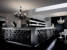 Arredo Bar modello GALLERY Lo stile e la personalitÀ. La ricerca del nuovo, la tecnologia e lo studio delle forme hanno creato un prodott