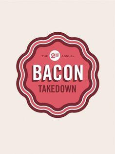 Bacon TD - Allan Peters #logotype #bacon