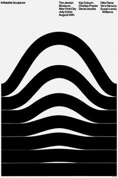 B&U (ByArnold Saks) #white #museum #arnold #print #design #black #saks #poster #jewish #typography