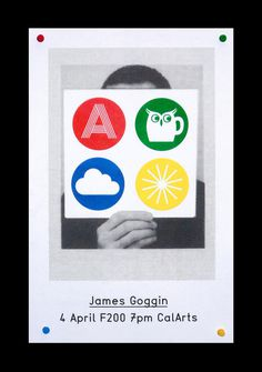 James Goggin CalArts poster by Mark Owens #james #practise #goggin #poster