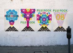FFFFOUND! #fuji #rock #typo #poster