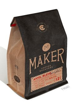 THE MADE SHOP #packaging #print #bean #coffee
