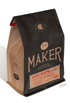 THE MADE SHOP #packaging #print #bean #coffee