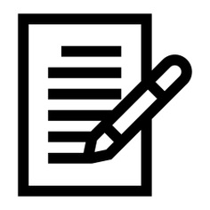 See more icon inspiration related to essay, note, paper, document, files and folders, signing, insurance, pencil, notes, writing and edit on Flaticon.