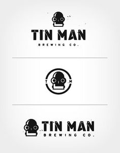 Tin Man Brewing Logos #beer #logo