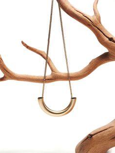 Chicago Pendant by Kahokia Design, Brooklyn, NY #chicago #ny #design #pendant #kahokia #jewelry #brass #necklace #york #nyc #brooklyn #new