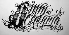 8mm Clothing #calligraphy