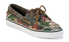 Sperry Top-Sider Women's Bahama #palm #shoes #sperry #frond #bahama #top #sider #boat #green