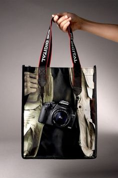 Canon EOS 500D Camera Campaign Hand bag #bag #photo #promotion #canon