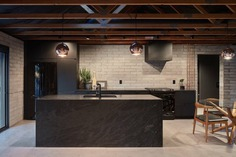 black kitchen, home design, interiors Tempe, Arizona, Knob Modern Design 2
