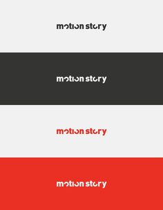 Motion Story on Behance #logo
