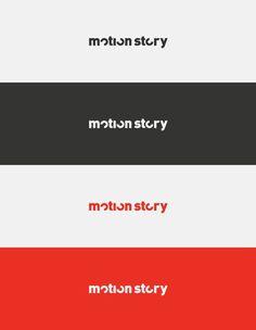 Motion Story on Behance #logo