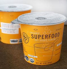 * Vigilant Eats : Superfood // FUNNEL #packaging #color #organic #typography