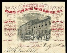 Blandy's Steam Engine Works | Sheaff : ephemera #letterhead #vintage