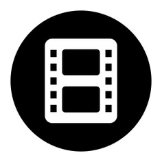 See more icon inspiration related to film, entertainment, photography, film strip, negative, camera film, music and multimedia and negative film on Flaticon.