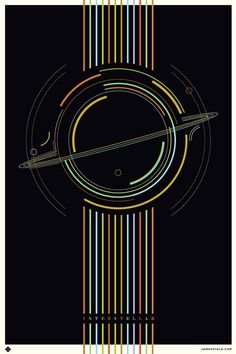 Image of Interstellar Fan Poster 24x36, LTD 100
