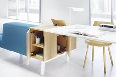Docks Furniture System #interior #furniture #office #workspace