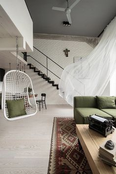 Loft Green / Anchal Interiors